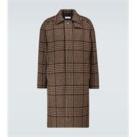 Éditions M.R cappotto mac a quadri in lana