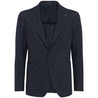 TAGLIATORE giacca in lana e jersey di cotone