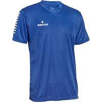 Derbystar contra trikot, maglia da bambino, blu bianco, 152