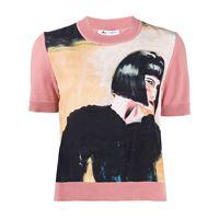 Ports 1961 t-shirt fully fashioned - rosa