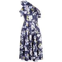 Jason Wu Collection vestito a fiori - di colore blu