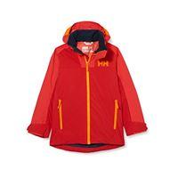Helly Hansen terrain jacke, giacca bambini, lampone, 14