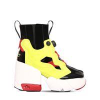 "MAISON MARGIELA sneakers ""rebook insta pump"" in pelle 100mm"