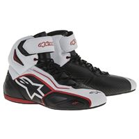 ALPINESTARS faster-2 shoes » (black/white/red)