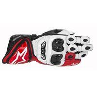 ALPINESTARS gp tech glove - (white/red/black)