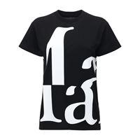 MAISON MARGIELA t-shirt in jersey di cotone con logo