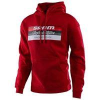 Troy Lee Designs - felpa Troy Lee Designs sram racing rosso