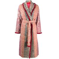 F.R.S For Restless Sleepers cappotto con cintura - rosa