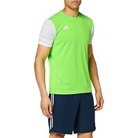 adidas estro 19, maglia uomo, solar green/white, xl
