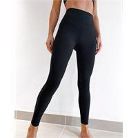 Lorna Jane - new booty sculpt - leggings alla caviglia a vita alta neri-nero