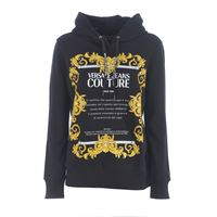 VERSACE JEANS felpa versace jeans couture in cotone