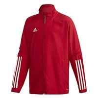 adidas condivo 20 presentation jacket giacca da rappresentanza, bambino, team power red/white, 116