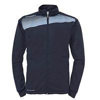 uhlsport liga 2.0, giacca da uomo unisex-adulto, marine/blu cielo, m
