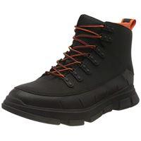 SWIMS city hiker ii, stivaletto uomo, black orange, 44.5 eu