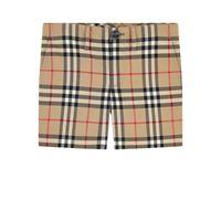 Burberry - shorts stampati check 12 anni