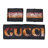 Gucci accessori per capelli Gucci band and wristband donna nero s