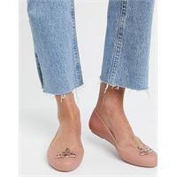 Vivienne Westwood for Melissa - scarpa bassa beige con logo-neutro