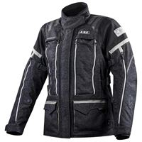 Ls2 giacca nevada xxxl black / dark grey