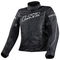 Ls2 giacca gate xxxl black / dark grey