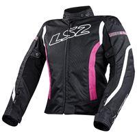 Ls2 giacca gate xxxxl black / pink