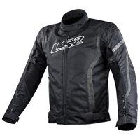 Ls2 giacca gate s black / dark grey