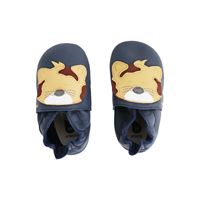 Bobux scarpa neonato soft sole tg. S leopardo navy