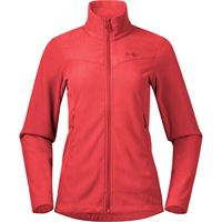 Bergans giacca in pile finnsnes donna rosso