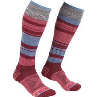 Ortovox calze all mountain lang warm donna rosso