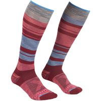 Ortovox calze all mountain lang donna rosso