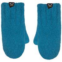 Salewa guanti walk wool k bambino blu