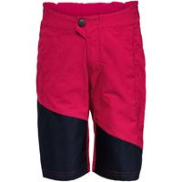 Vaude pantaloncini ciclismo moab bambino rosso
