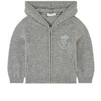 Dolce & Gabbana bambino - maglia con cappuccio in cashmere - bambino - 6-9 mesi - grigio