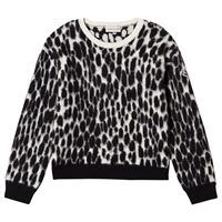 Moncler - leopard camo maglione nera 6 anni
