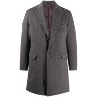 Barba cappotto monopetto - grigio