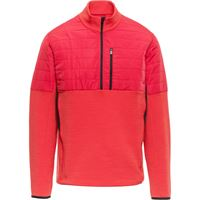 Aztech Mountain maglione a pannelli smuggler - rosso