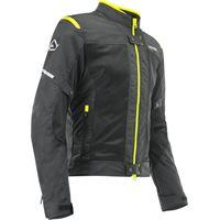 Acerbis giacca moto estiva Acerbis ramsey my vented 2.0 ce nero giallo
