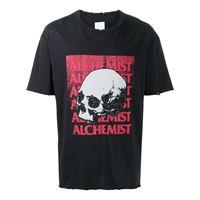 Alchemist t-shirt con stampa - nero
