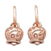 Chantecler Capri mono orecchino chantecler campanella media in oro rosa