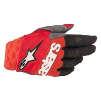 ALPINESTARS guanto corto racefend rosso nero - ALPINESTARS