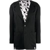 MAISON MARGIELA blazer donna s51bn0374s49226900 poliestere nero