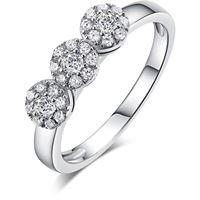 Melitea anello donna gioielli Melitea punti luce ma119.11