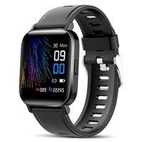 Canmixs smartwatch orologio uomo donna impermeabile ip68 bluetooth fitness smart watch cardiofrequenzimetro da polso contapassi calorie digitale 1,54'' touch sportivo activity tracker per android ios