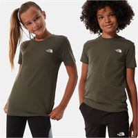 TheNorthFace the north face t-shirt bambini simple dome new taupe green taglia m donna
