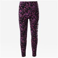 TheNorthFace the north face leggings bambina con logo grande tnf black/tnf white taglia l donna