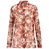 Altuzarra camicia chika a stampa floreale