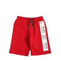 N°21 shorts in felpa di cotone con logo