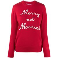 Mc2 Saint Barth maglione marry not married - rosso