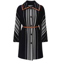 LOEWE cappotto in misto lana con cintura