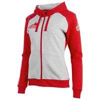 Uhlsport giacca fc köln 3.0 xs grey melange / red