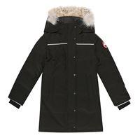 Canada Goose Kids piumino eakin con pelliccia